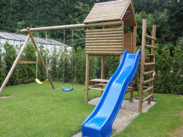 Speeltoestel Kleine Tuin : Speeltoestel de boomhut