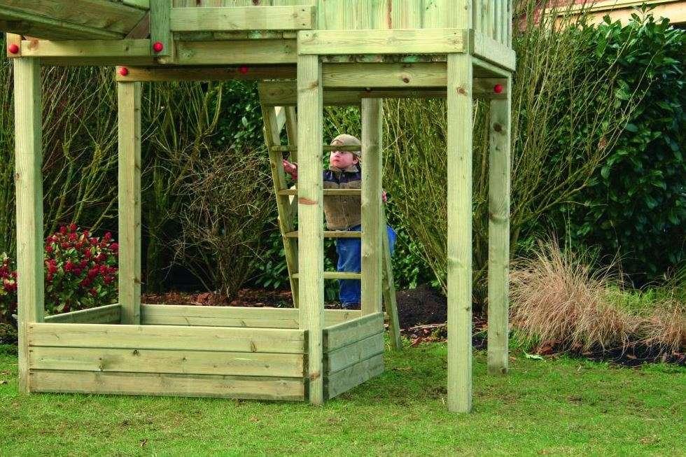 Speeltoestel & speelhuis :: zelf samenstellen :: riddertoren