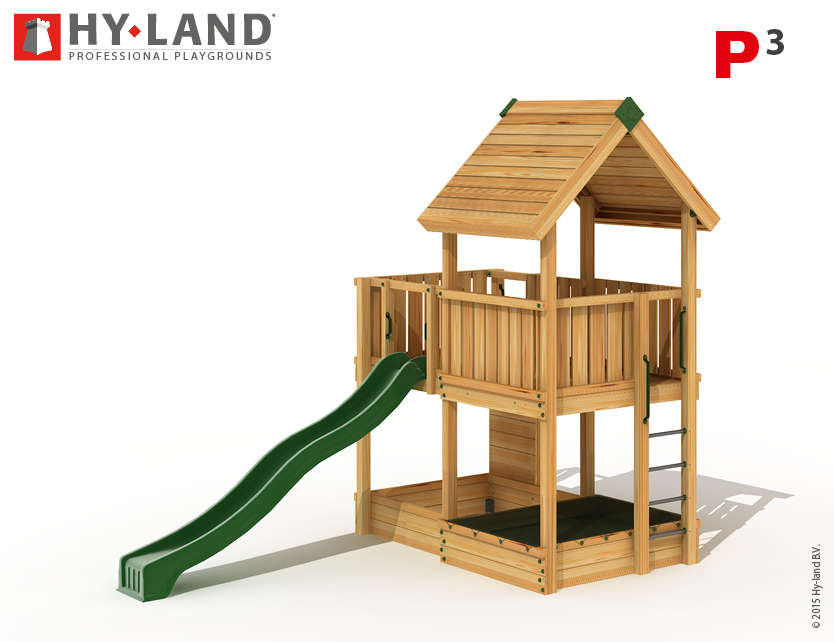 Hy-Land P3 3d tekening