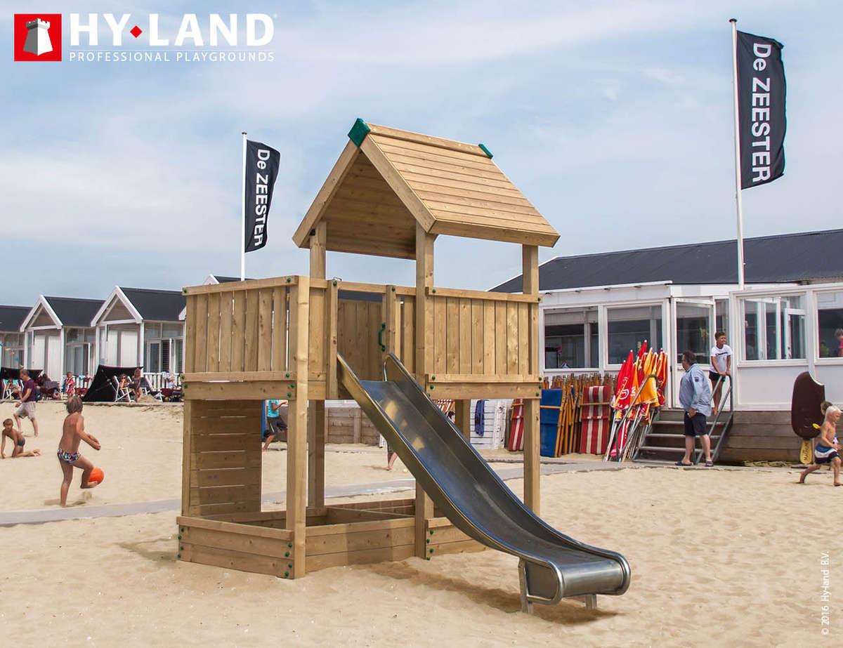 Hy-Land P3 RVS glijbaan