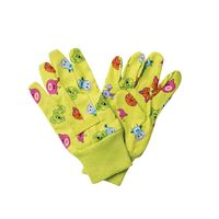 kinder handschoenen tuinier print katoen dieren