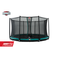 Berg InGround Champion 270 + Safety Net Comfort trampoline