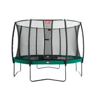 Berg Champion 330 + Safety Net Deluxe Trampoline