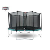 Berg Favorit 430 + Safety Net Comfort trampoline