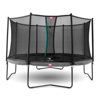 Berg Champion 270 + Safety Net Comfort Trampoline
