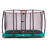 Berg InGround EazyFit + Safety Net Deluxe EazyFit Trampoline