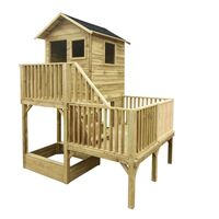 houten speelhuis panter safari
