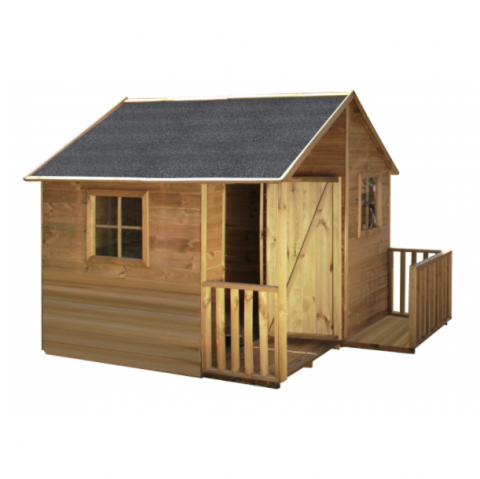 Welp Safari houten speelhuisje Kaketoe WP-29
